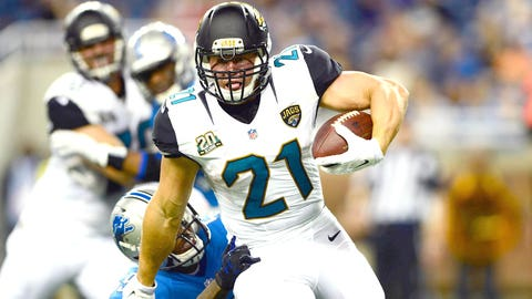 Jacksonville's Painfully Thin Rushing Corps