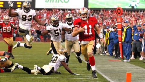 2011 NFC Playoffs -- 49ers 36, Saints 32