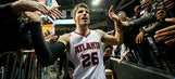 Hawks guard Kyle Korver on pace for all-time great shooting season