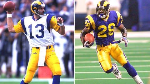 17 -- 2001 St. Louis Rams