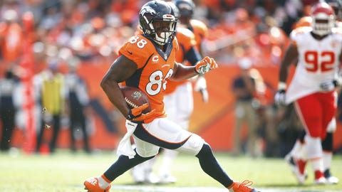 3 -- WR Demaryius Thomas, Broncos