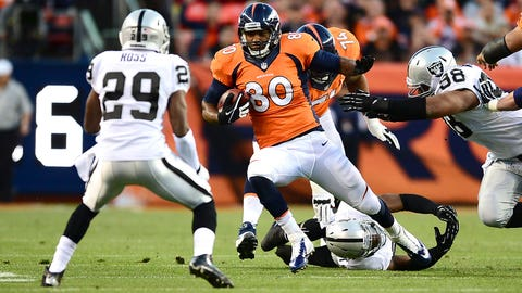18 -- TE Julius Thomas, Broncos