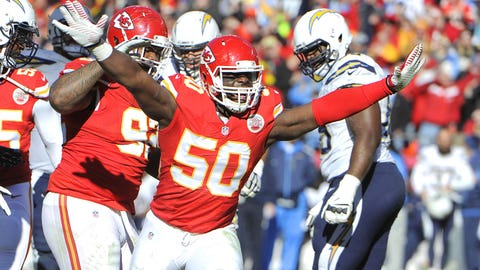 Justin Houston, OLB, Kansas City Chiefs