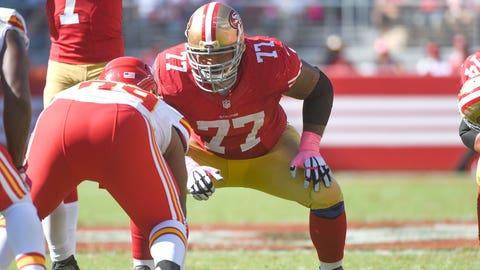 12 -- OG Mike Iupati, 49ers