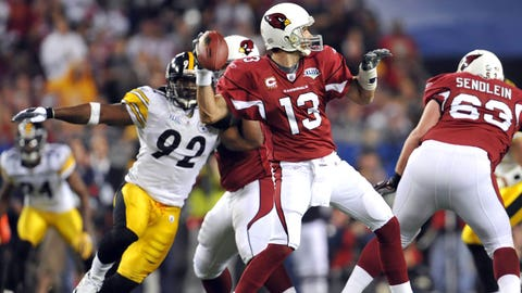 #12 -- QB Kurt Warner, Arizona Cardinals