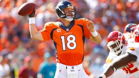 #4 -- QB Peyton Manning, Denver Broncos