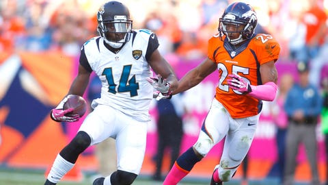 Justin Blackmon will lead the Jags in receiving yards/TDs