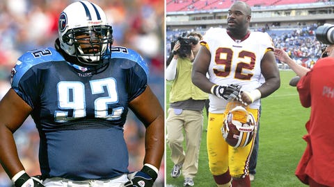 1 -- DT Albert Haynesworth, Washington Redskins