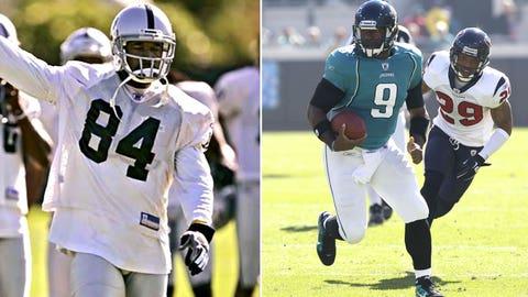 12 -- WR Jerry Porter, Jacksonville Jaguars