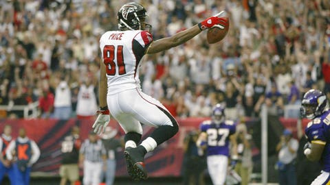 15 -- WR Peerless Price, Atlanta Falcons
