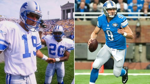19 -- QB Scott Mitchell, Detroit Lions