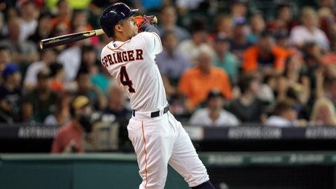 George Springer, OF, Houston Astros