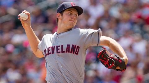 Trevor Bauer, SP, Cleveland Indians