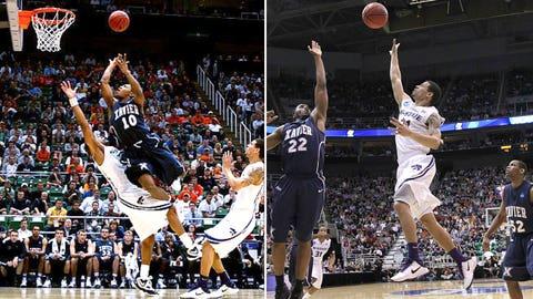 2 -- 2010: (2) Kansas State 101, (6) Xavier 96 (2OT)