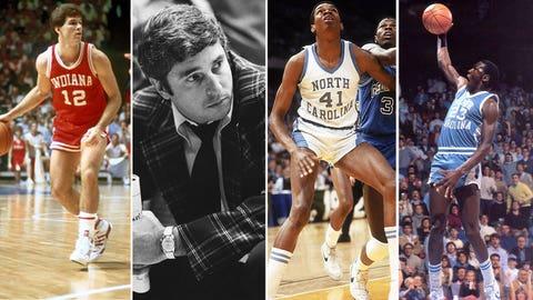 4 -- 1984: (4) Indiana 72, (1) North Carolina 68
