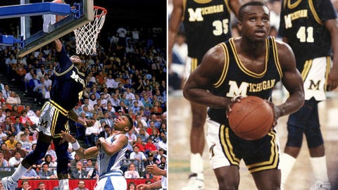 12 -- 1989: (3) Michigan 92, (2) North Carolina 87