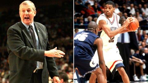 11 -- 1998: (2) UConn 75, (11) Washington 74