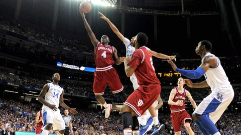 24 -- 2012: (1) Kentucky 102, (4) Indiana 90