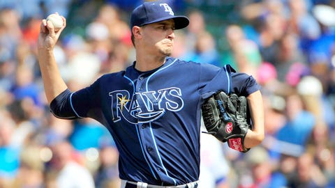 18 -- SP Jake Odorizzi, Tampa Bay Rays