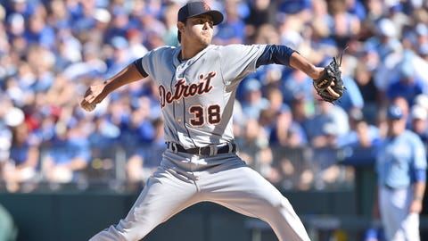 5 -- RP Joakim Soria, Detroit Tigers