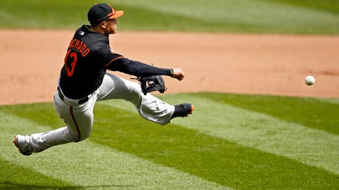 Manny Machado, 3B, Orioles