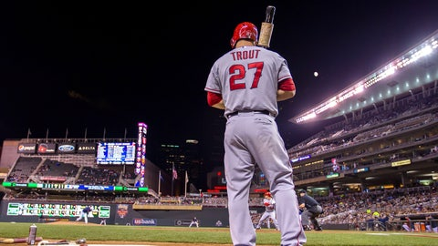 Mike Trout, OF, Angels