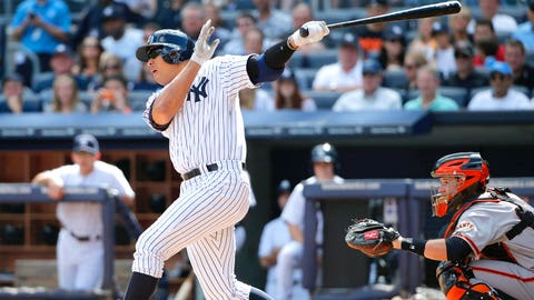 Prediction #10: Alex Rodriguez will match the power tallies from 2012 (18 HR/57 RBI)