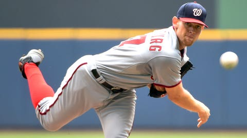 Prediction #2: Stephen Strasburg will lead the majors in strikeouts