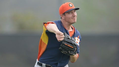 Asher Wojciechowski, SP, Houston Astros