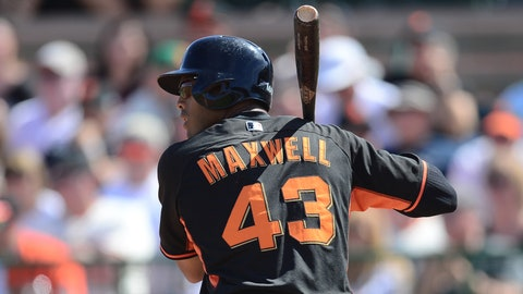 Justin Maxwell, OF, San Francisco Giants