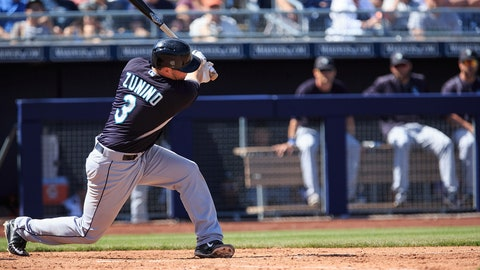 Mike Zunino, C, Seattle Mariners