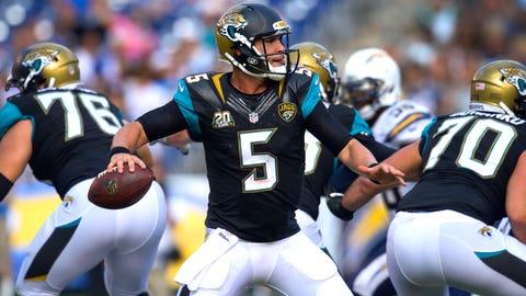 3. Jacksonville Jaguars -- QB Blake Bortles