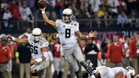Mariota might drop to the Jets at No. 6, and they should still trade down