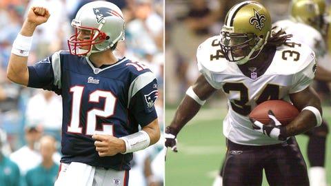 2000 New Orleans Saints -- Tom Brady