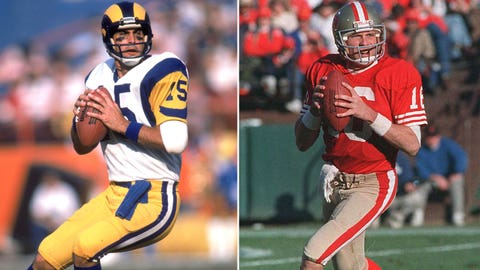 1979 Los Angeles Rams -- Joe Montana