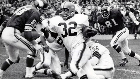 1957 Green Bay Packers -- Len Dawson, Jim Brown