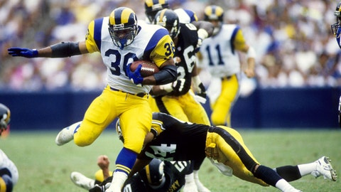 The Rams gave away Jerome Bettis just three years prior