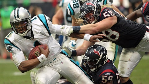 A rare game against the Texans