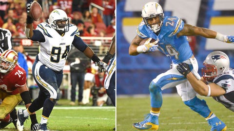 28 -- San Diego Chargers