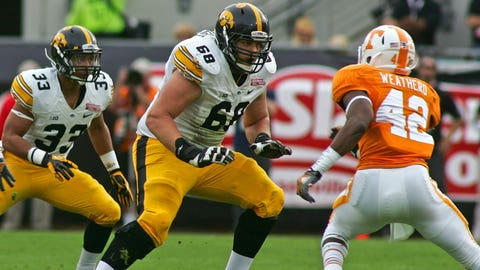 Iowa's Brandon Scherff will be a regular Pro Bowler ... at right tackle
