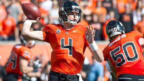 Oregon State QB Sean Mannion will be the 2015 class's first 4,000-yard passer