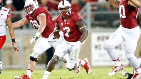 Stanford's Ty Montgomery will be a 100-catch receiver by 2018