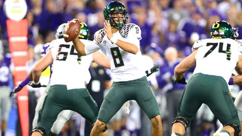 Reason No. 2: Marcus Mariota has a higher ceiling at the next level