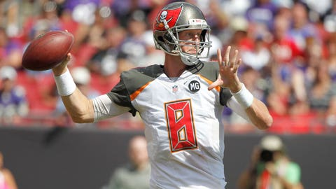 Reason No. 4: It's too early to bail on QB Mike Glennon