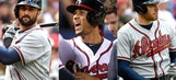Amid lineup tweaks, Markakis, Simmons, Freeman showing spots 1-3 shouldn't change