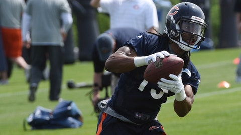 Chicago Bears -- White ran routes from multiple positions