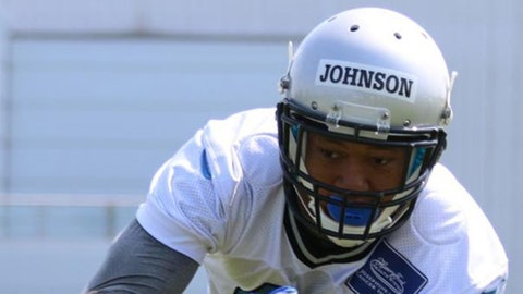 Detroit Lions -- Johnson gets paid as an undrafted rookie