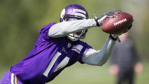 Minnesota Vikings -- Diggs' elusive post-catch skills