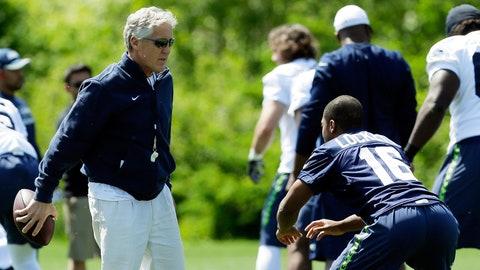 Seattle Seahawks -- Lockett making plays all over the field