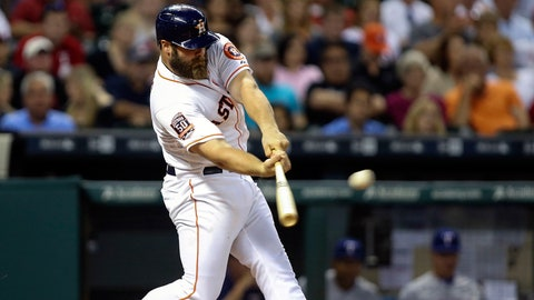 Evan Gattis, Houston Astros